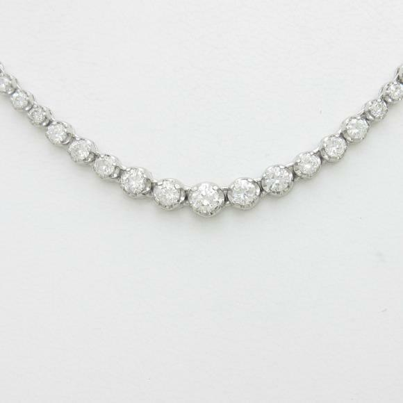 Authentic Platinum Diamond necklace  #260-001-529-0878