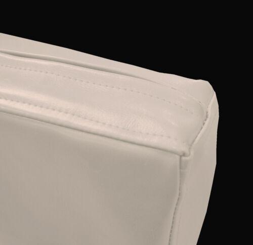 Pe227t sable en cuir synthétique motif classique boîte 3D Coussin de siège Housse de taille personnalisée