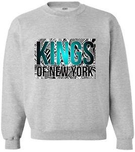 Kings Of NY New York City Script Logo NYC Crewneck Sweatshirt