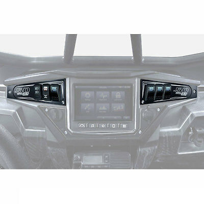 Only XP1000 6 Switch Dash Panel Up Blue Side By Side CNC Aluminum S900 2015