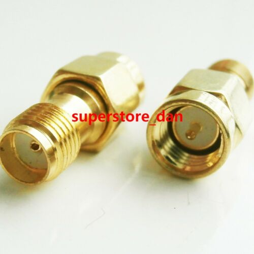2//5//10Pcs SMA Male To SMA Female Jack Lot RF Connector Coupler Straight Adapter
