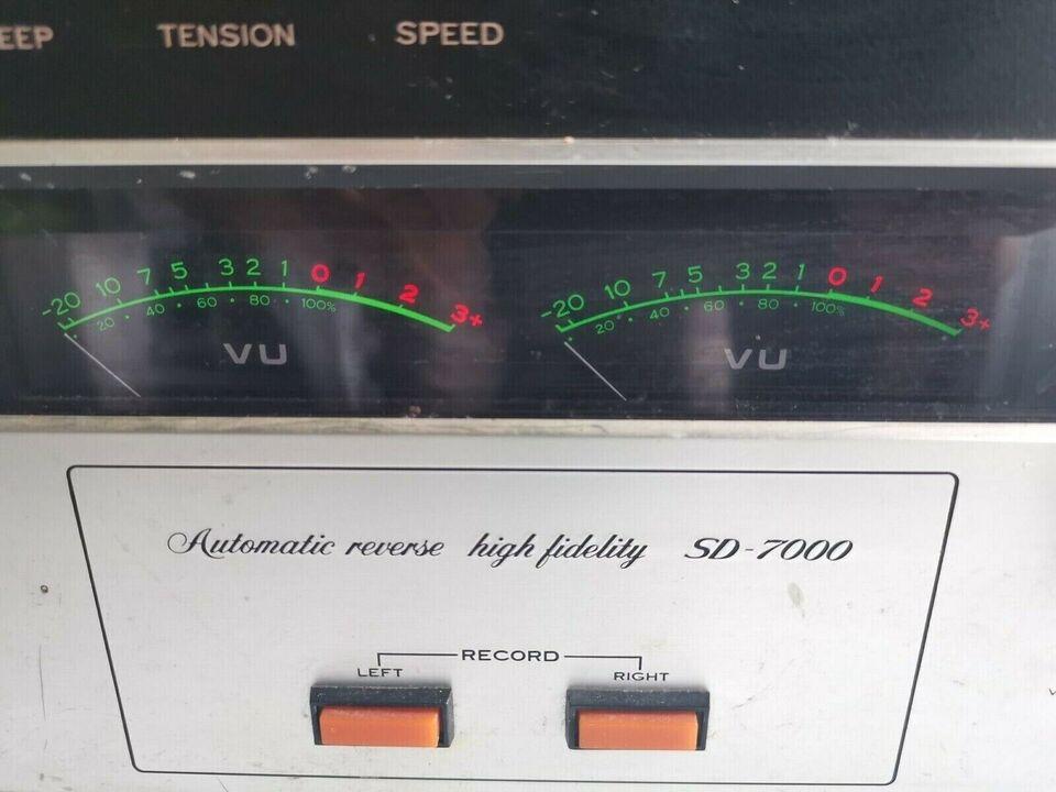 Spolebåndoptager, sansui sd 7000 , Defekt