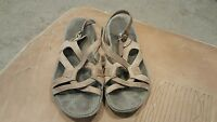 Merrell Womens Light Brown Slide Sandals Size 7