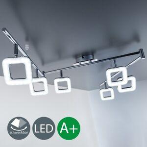 Led deckenlampe wohnzimmer design decken leuchte spot for Wohnzimmer lampe 6 flammig