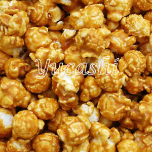 CARAMEL-POPCORN-Sweet-Popped-Corn-Snack-Bulk-Food-12-oz-5-lb