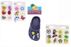 8f2907056b0c4 Shoe Charm Plug Crocs Clogs Sticker Funny Clips Kid Party Bag Favour ...