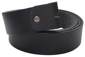 QHA-Mens-Belt-Full-Grain-Leather-Waist-Strap-No-Buckle-Q5066