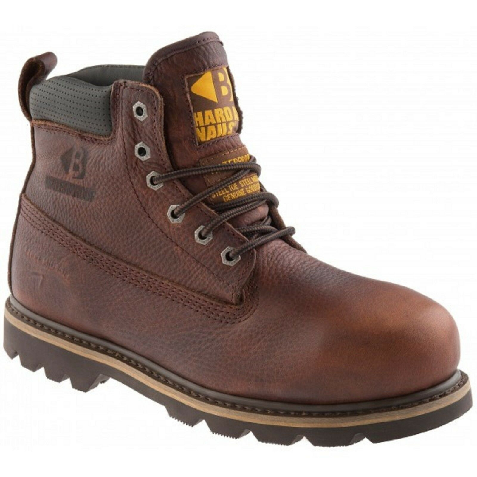 Buckler B750SMWP Waterproof Brown Safety Work Boots Dark Brown Waterproof Leather (Sizes 4-13) f72789