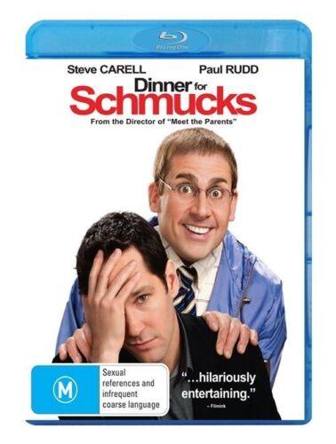 1 of 1 - Dinner For Schmucks (Blu-ray, 2011)