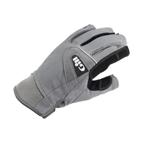 Grau Gill Deckhand Short Finger Segelhandschuhe 2018 Handschuhe Bootsport