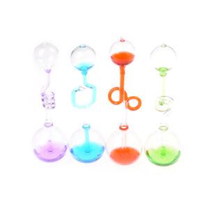 Liebesmesser-Handkessel-Thermometer-Spirale-Glas-Wissenschaft-Energie-Spielz-W-4
