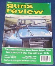 GUNS REVIEW MAGAZINE MAY 1992 - GEPARD 12.7 MM LONG RANGE SNIPER RIFLE