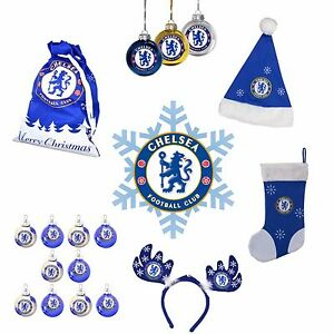 Image is loading CHELSEA-F-C-Official-CHRISTMAS-Merchandise -Xmas-Gifts-Decorations- 0e32282d4