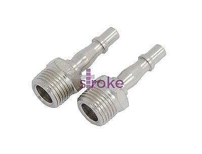 "Other Air Compressors Able 1/2"" Bayonet Plug Coupler Bsp Hose Male Airline Fitting Coupling Fits Pcl 2 Pk Online Discount Business & Industrial"