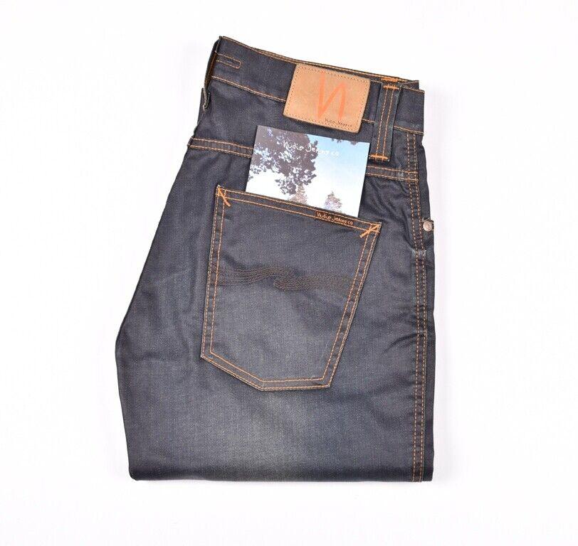 Nudie Jeans mit Slim Jim Gletscher Indigo Indigo Herren Jeans Größe W32   | Deutschland Outlet  | Zürich  | Zürich