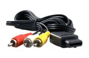 NEW 6FT AV Audio Video A/V TV Cable Cord Wire - Gamecube SNES Nintendo 64 Super