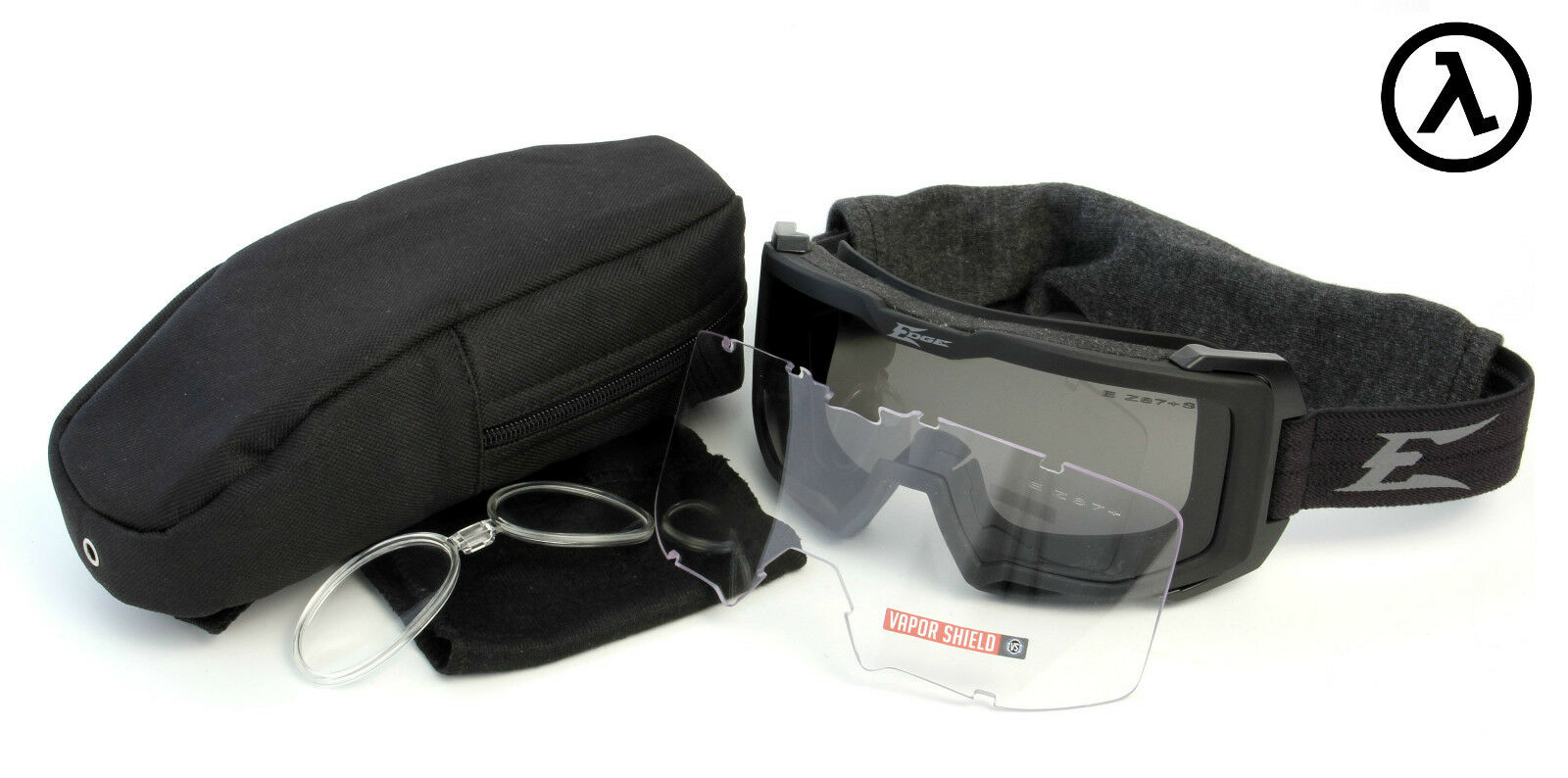 EDGE TACTICAL EYEWEAR BLIZZARD GOGGLE with LENS KIT  HB611