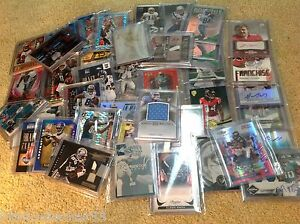 Football-5-12-Card-Hot-Pack-25-in-Book-Value-Autographs-Jerseys-SPs-039-d-RC