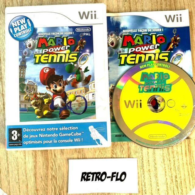 Mario Power Tennis - Jeu Nintendo Wii Complet - PAL