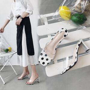 Bianco Cm Comodi 5 Eleganti Quadrato Donna Ciabatte Sandali Tacco 9858 n08ZIUqw