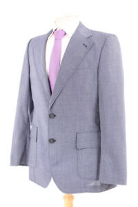 Austin Reed Blue Vintage Men S Suit 40r Dry Cleaned Ebay