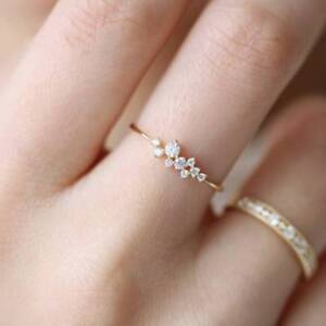 Fashion-Simple-Style-Gold-Color-Rings-Inlay-9-Crystal-Engagement-Wedding-Jewelry