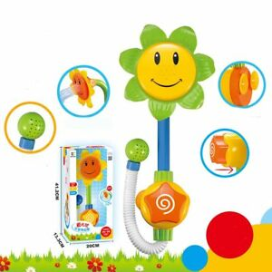 Baby-Funny-Play-Water-Game-Bath-Toy-Sunflower-Faucet-Shower-Toy-Send-Random