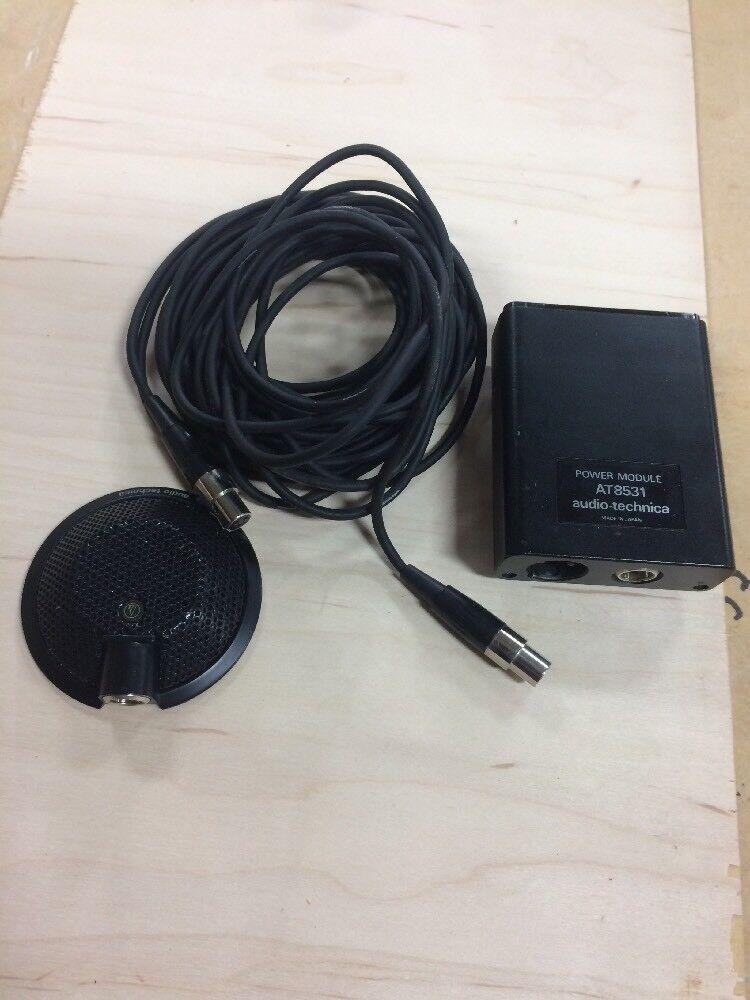 Micrófono Micrófono Micrófono Condensador Audio Technica AT841A límite con AT8531 pre y Cable AVC  100% a estrenar con calidad original.