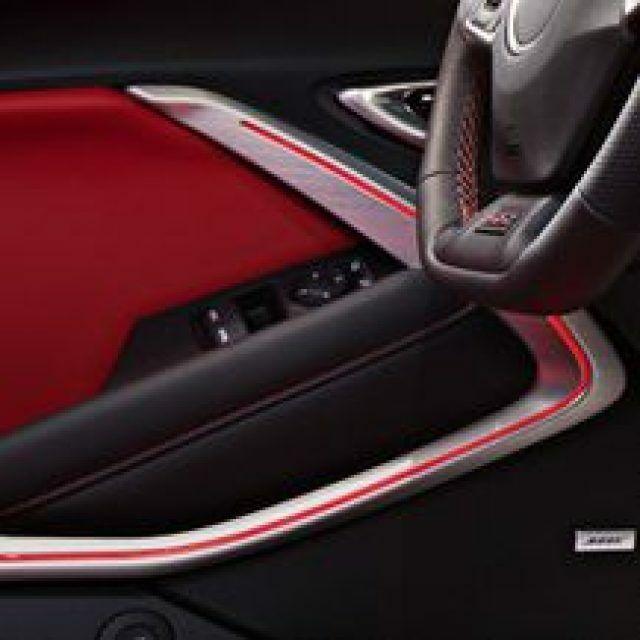 2016-2020 Camaro GM Interior Door Trim Spectrum Lighting Package Silver 84043877