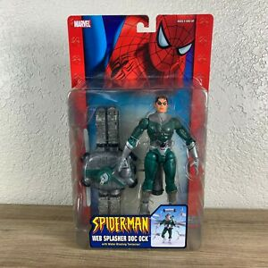 Spider-Man-Web-Splasher-Doc-Ock-Doctor-Octopus-Figur-Toy-Biz-2005