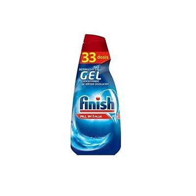 Finish Gel Lavavajillas Todo en 1 Plus 660ml (33 dosis)