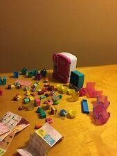 Large Shopkins Lot - Refrig Shopkins, Toy Set, Shopping Baskets & Bags Included