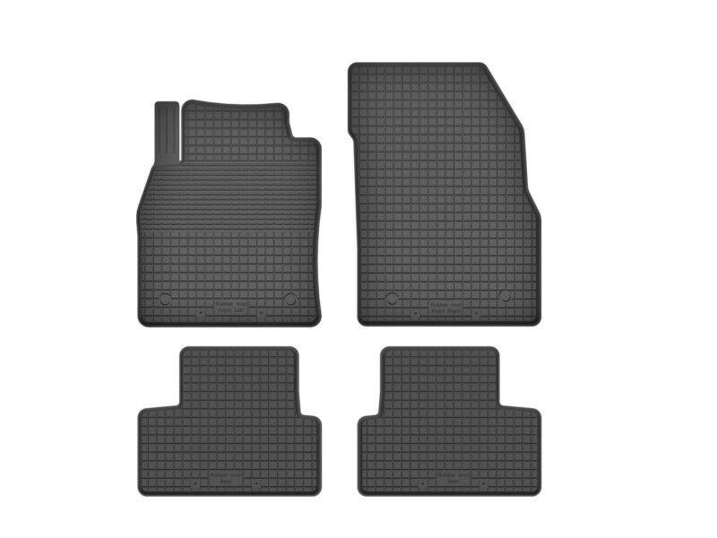 3D Gummifußmatten Gummimatten für Renault Megane 3 III 2010-2015 4-tlg Set