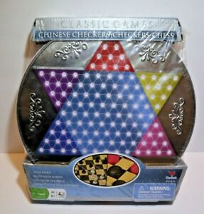 New-Chinese-Checkers-Checkers-and-Chess-Cardinal-Industries-Metal-Board-2007