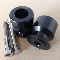 Black Swingarm Spool 10mm Thread For Kawasaki Ninja 250r 08-11/650r 06-11/zx-10r