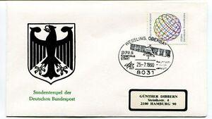 Copieux 1990 Wessling Oberbay Dfs-2 Kopernikus Start Sonderstempel Deutschen Bundespost Produits De Qualité Selon La Qualité