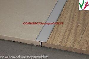 Profilo a t in alluminio pavimenti parquet raccordo tecnico separatore giunto ebay - Profili acciaio per piastrelle prezzi ...