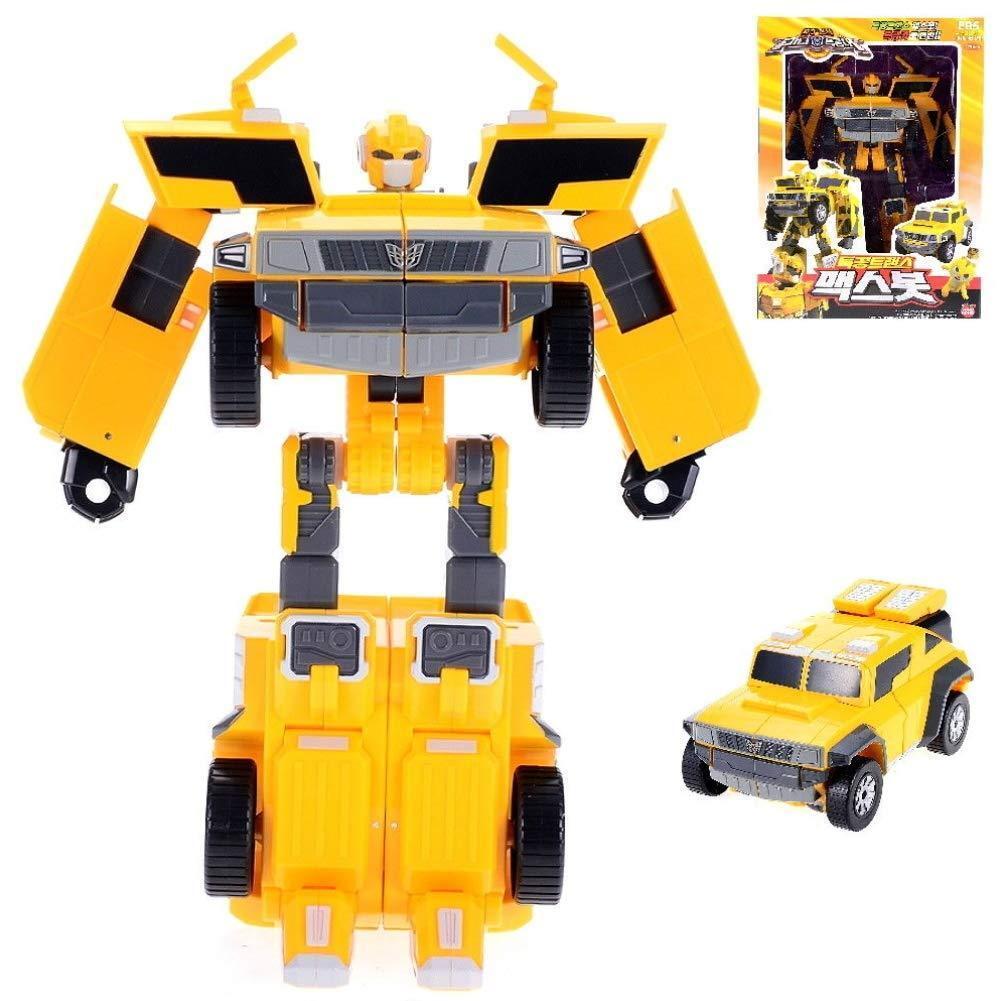 Mini FORCE Miniforce Maxbot Max Bot Transformer Robot Coche de Juguete animación coreana