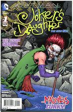 BATMAN JOKER'S Daughter #1, NM, Madness Lurks, Hetrick, 2014, more BM in sto