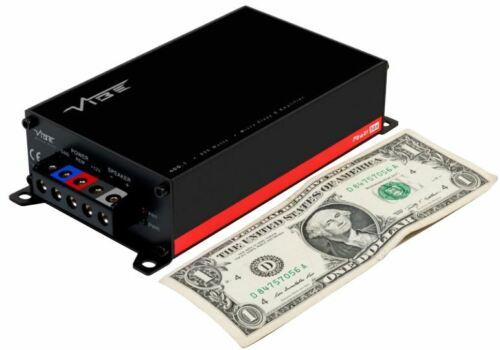 Vibe PowerBox 400.1M Micro Clase D Monoblock Amplificador De Bajo Kit Rapidfire