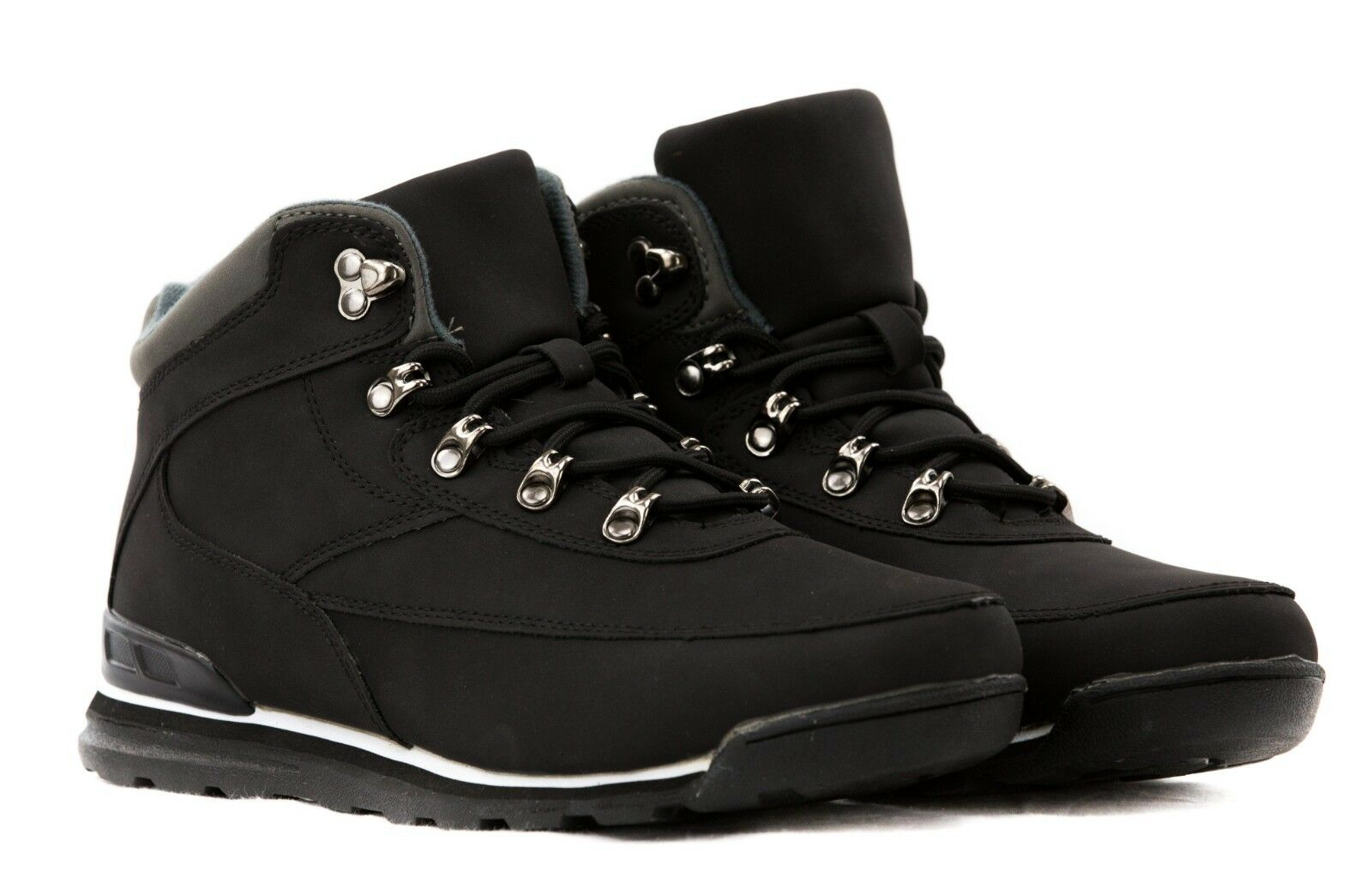Boots Men's Shoes Woman PU Leather Combat Boots Sneakers T47