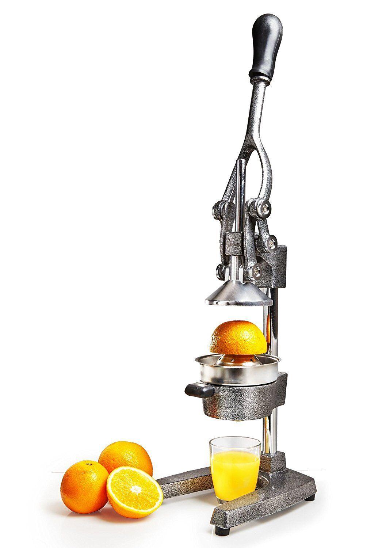 Exprimidor de fruta profesional zumo a mano fácil de alta calidad hierro fundido