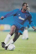 Football Photo DAVID ROCASTLE Chelsea 1994-95