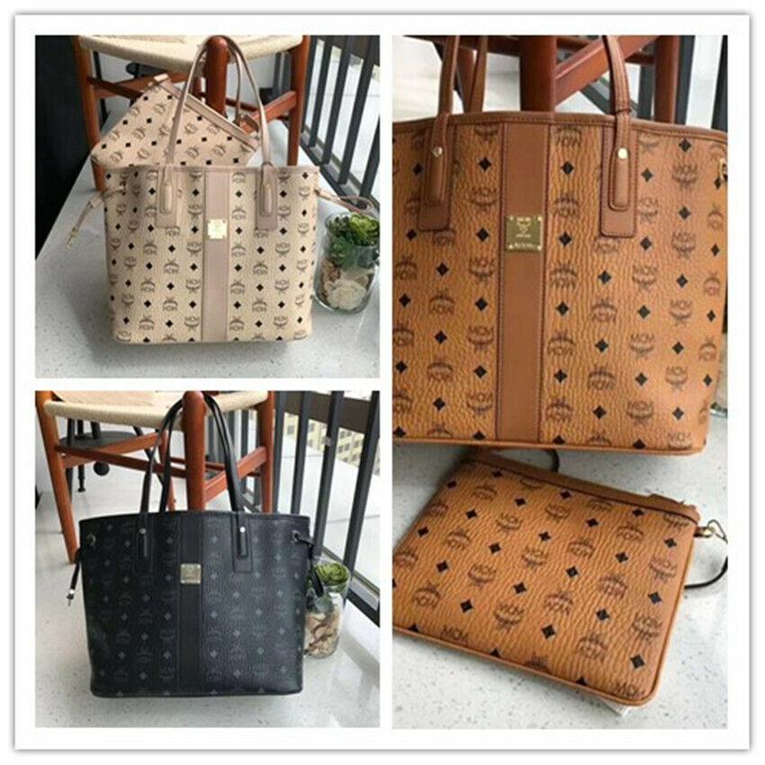 HOT 3 FARBEN MCM Shopper Bag Cognac Tasche Handtasche