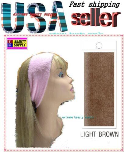 LIGHT BROWN Make up visage cosmétiques douche lavage Bandeau