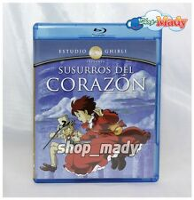 Whispers of the Heart Ghibli - Susurros del Corazón Blu-Ray en ESPAÑOL LATINO