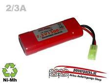 Fahrakku,  HP 2/3A 7.2V1200mAh inline mit mini Tamiya Stecker ...