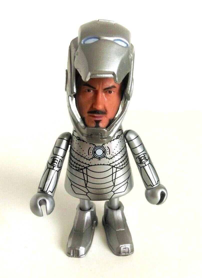 Marvel Iron Man Mark 2 Suit Ironman Tony Stark Stark Stark Crazy Toys Super Deformed Style eeb77f
