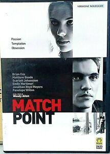 WOODY-ALLEN-MATCH-POINT-2005-con-Scarlett-Johansson-DVD-USATO-MEDUSA