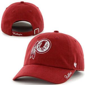 c9d330415470b NFL Washington Redskins Women s  47 Brand Sparkle Team Color Clean ...